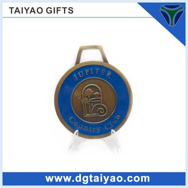 engrave personal name on bag tag for golf