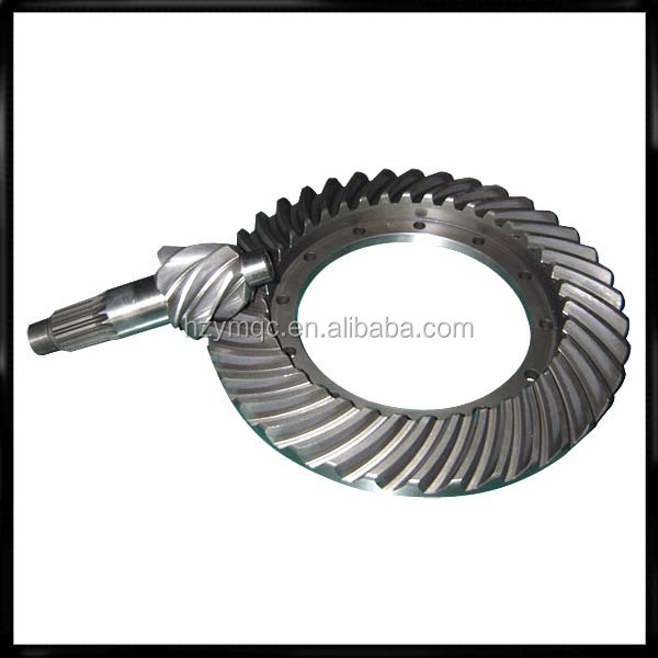 China quality bevel gear box with helical bevel gear in types of truck