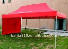 10x15 folding canopy, one wall
