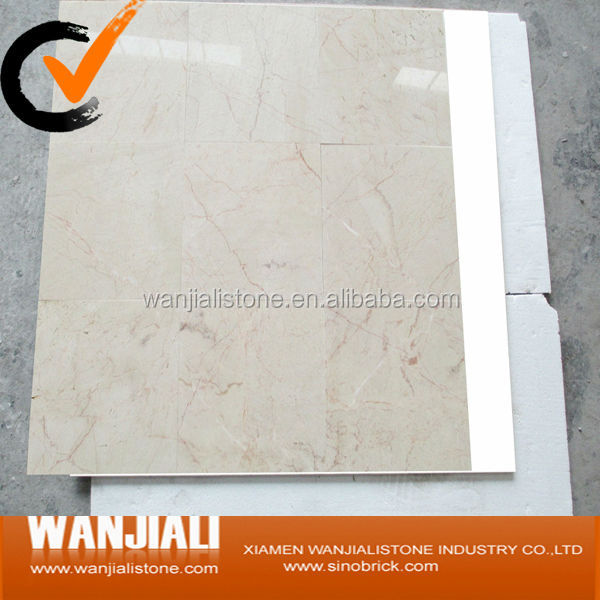 whole sell natural Red Line Mary Cream Marble