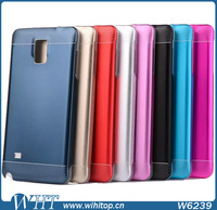 Wholesale Case for Samsung Note 4, Aluminum Back Case Cover for Samsung Galaxy Note 4