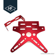 CNC motorcycle modify parts rear License Plate Frame holder universal