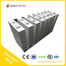 china make Powerful light weight lifepo4 3.2 volt solar batteries 100ah