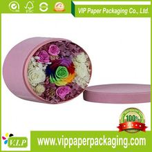 Recyclable Feature customized factory price round flower shape christmas metal tin gift box