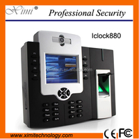 Iclock880-h fingerprint time attendance and access control system optional back up battery GPRS WIFI