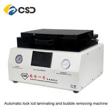 Lcd vacuum laminating lcd bonding machine with automatic lock gas