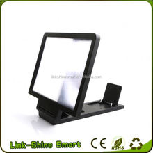 2016 mobile phone LCD LED portable electronic magnifier,screen magnifier, mobile phone screen magnifier
