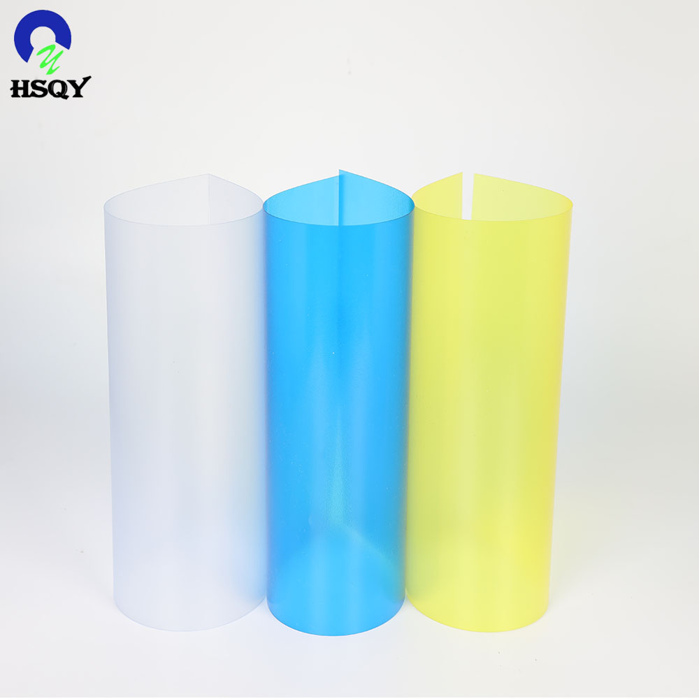 PVC Glossy Sheet Roll/Clear Color PVC Sheet/Colored PVC <strong>Plastic</strong>