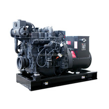 brand new Shangchai D150S3SC generator set with SC7H250CF2 engine