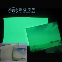 luminous high glossy photo paper inkjet paper (A4* 20),glow in the dark paper /film