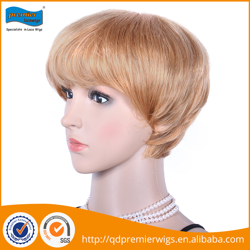 Wholesale cheap 7A 4 inches lace front wig synthetic hair