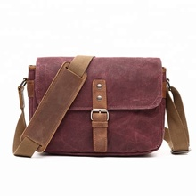Wholesale Men and Women Waterproof Canvas Shoulder Messenger Camera bag