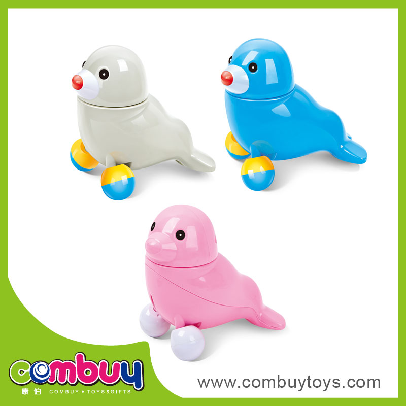 Funny battery operated musical sea lion large plastic animal toy