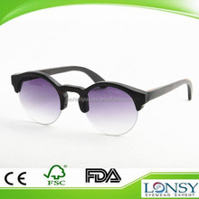 Retro polarized/polarised round style sunglasses for men & women with custom logo