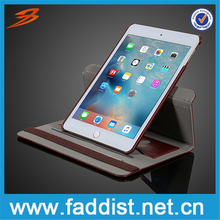 High quality stand case for iPad mini 4 case with two card slots