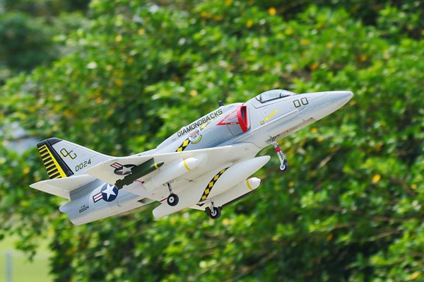 A-4 skyhawk giant scale rc jet planes kits for sale