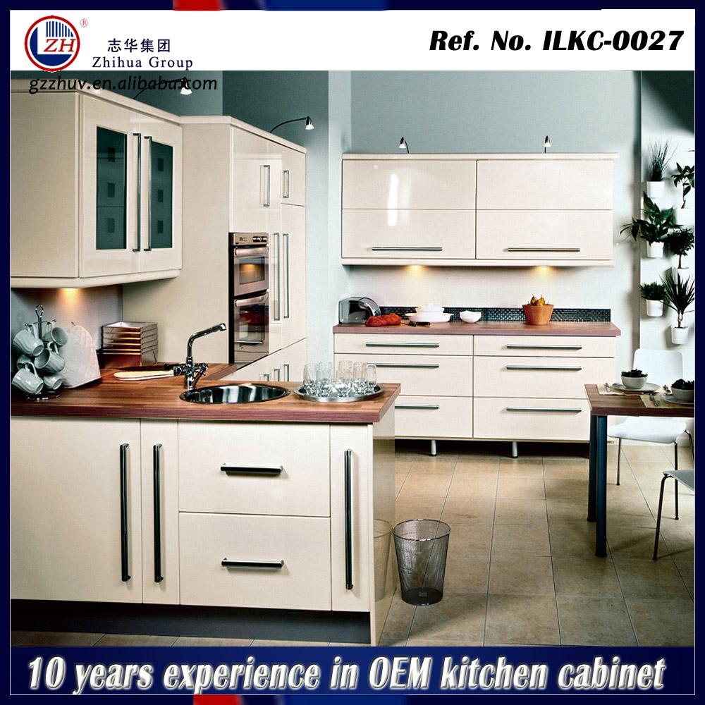 Modern High Gloss Kitchen Cabinet Laminated Kitchen Cabinet Design