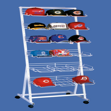 Customized metal cowboy hat rack for truck in display racks
