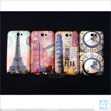 American Flag Pattern Shinning Hard PC case for samsung galaxy note 2 / N7100 /T889/ I605 P-SAMN7100HC008