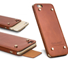 QIALINO Mobile Phone Bumper Case Genuine Leather Back Cover For iPhone 6 6s 4.7inch