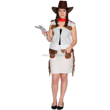 Party Carnival adult women sexy cowgirl costume photos MAA-56