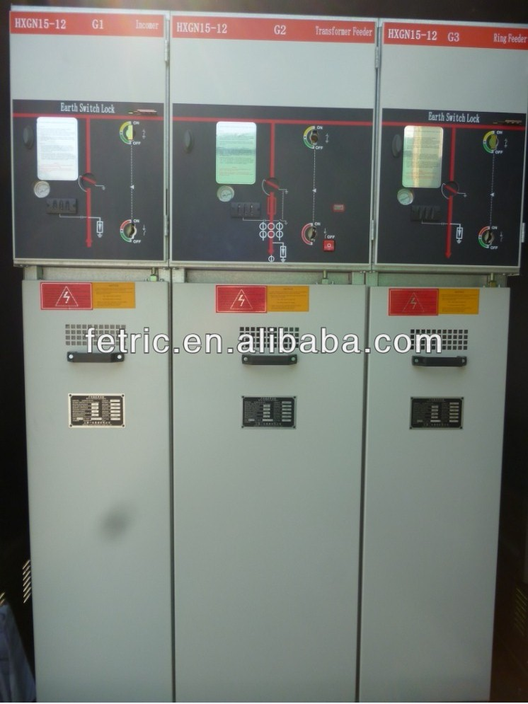 HXGN 11kv 22kv 33kv 630A gas insulated switchgear
