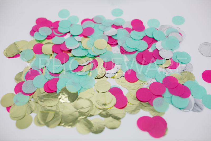 Circle Confetti Tissue paper Wedding Decroation Tissue Confetti