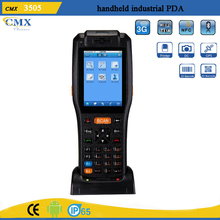 Programmable android 3G touch screen handheld device with printer PDA3505