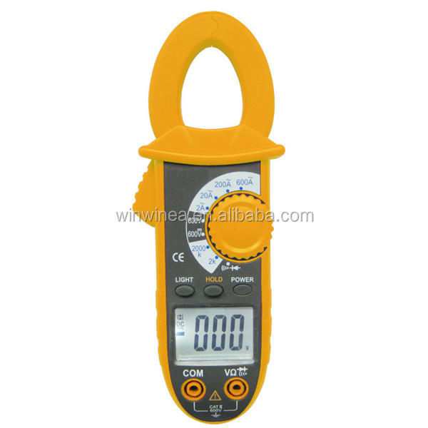 600V DC/AC digital clamp meter multimeter