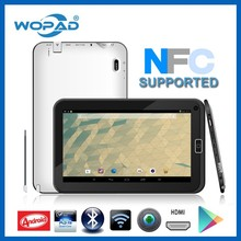 "Wopad Q108 Quad Core 10 "" polegadas android tablet pc com NFC e Ethernet RJ45 porta built in RS232 de apoio"