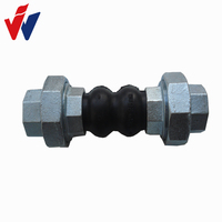 thread type/oil resistant/epdm/pn16/galvanized pipe fittings bellows expansion joint