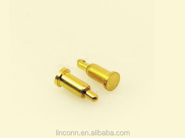 brass spring pin loaded pogo pin PCB connector