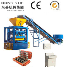 QT4-24 chinese concrete hollow block machine recycling