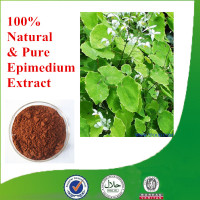 Icariin 50% 60% 80% 98% epimedium extract without side effect