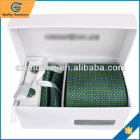 Fashion custom men tie gift box