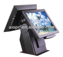 12/15 inch TFT LCD 5 wire resitive Touch pos terminal for restaurant and supermarket etc