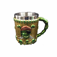Gothic Helmet Drinkware Bottle Cups Creative Gift Skull Beer Mug