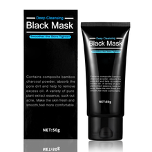 Private label black Peeling Off bamboo Charcoal Facial Mask