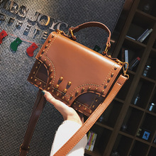 FS0968A 2018 wholesale new design women fashion PU leather stud handbags