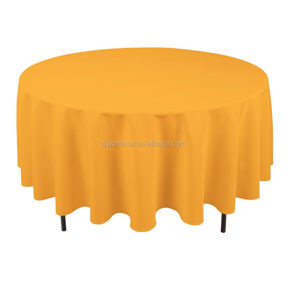 1505C pantone colored knitting plastic table cloth round peva table cover