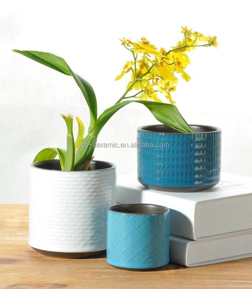 Blue Ceramic Flower Pot Blue Ceramic Flower Pot Suppliers And