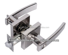 door handle fancy lever handle mortise lock -KY8813