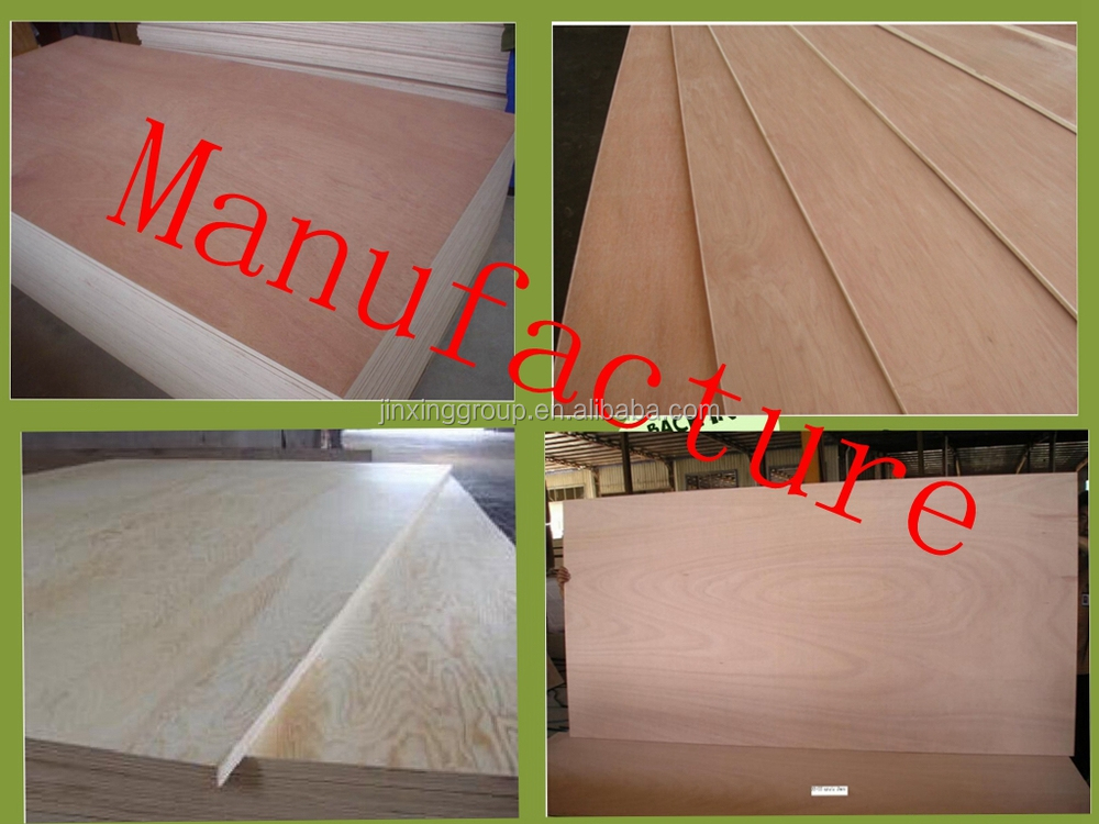 Linyi E1 Grade Red Core Plywood/ Gurjan Plywood at Wholesale Price