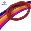High pressure silicone flexible gas hose