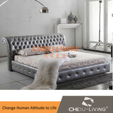 modern wholesale beds china furniture bedroom set 3018