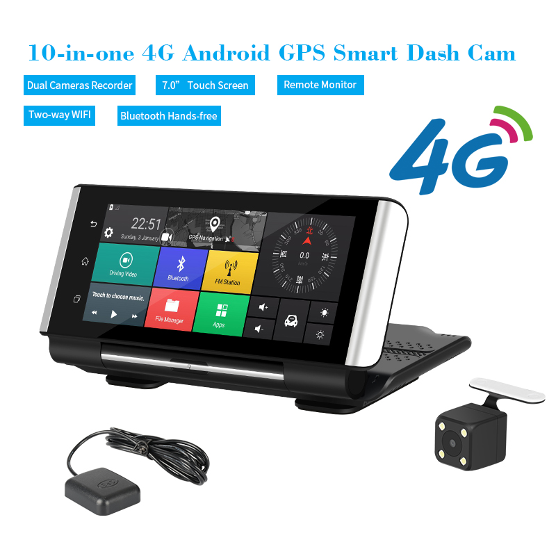 Hot sale factory direct 4g directional antenna android dvr mirror 3g gps