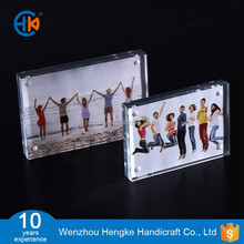 Double side freestanding A5 acrylic magnetic photo frame