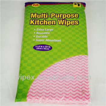 Disposable dry cleaning wipes