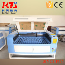 Good price of 120w dual head paper laser cutting machine with great