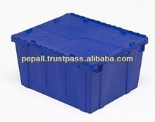 High Quality Blue Color Plastic Storage Box for Sale